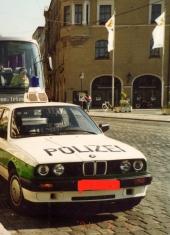 ドイツのパトカーBMWでした