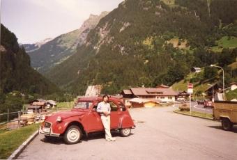 愛車 エンテ スイスにて