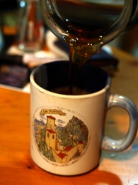10年使ってるサンマリノで買ったマグカップ
