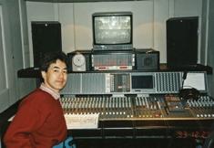 1993年 ウィーン・ニューイヤーコンサートの収録現場にて