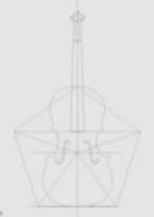 正五角形により確認されるデザイン内の黄金比