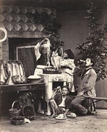 ナポリではマカロニ屋と呼ばれていました。