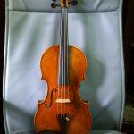 第4回展示会出展作品 バイオリン グァダニーニ モデル