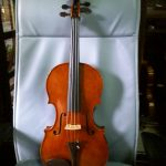 第4回展示会出展作品 バイオリン グァルネリ モデル
