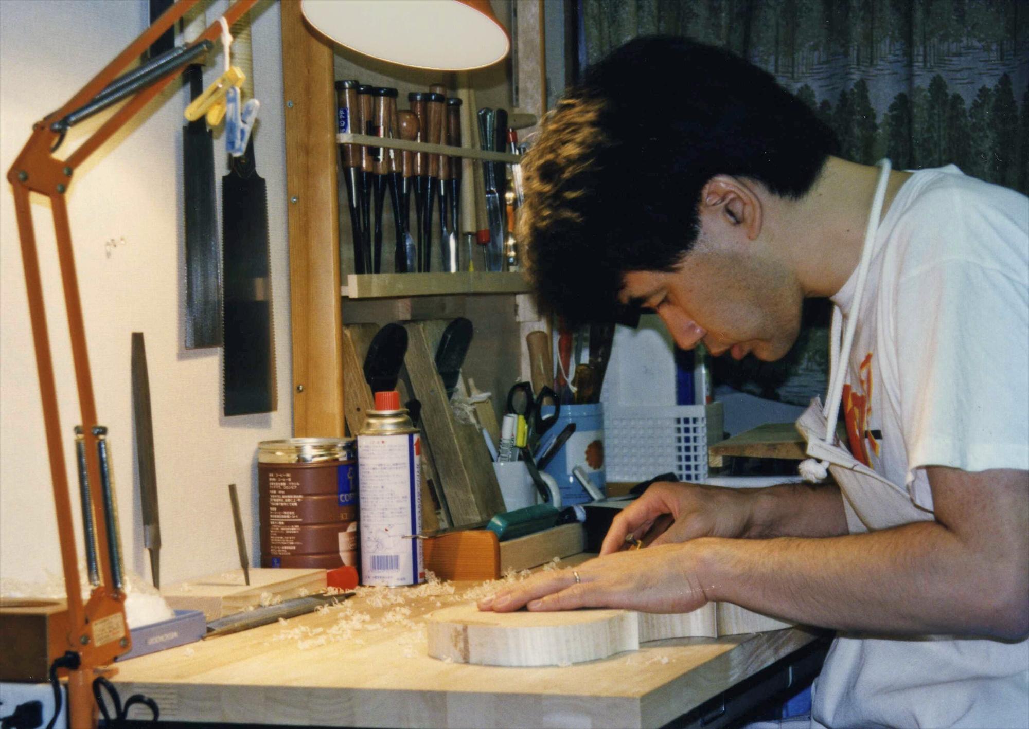 日本で製作を開始した1996年頃