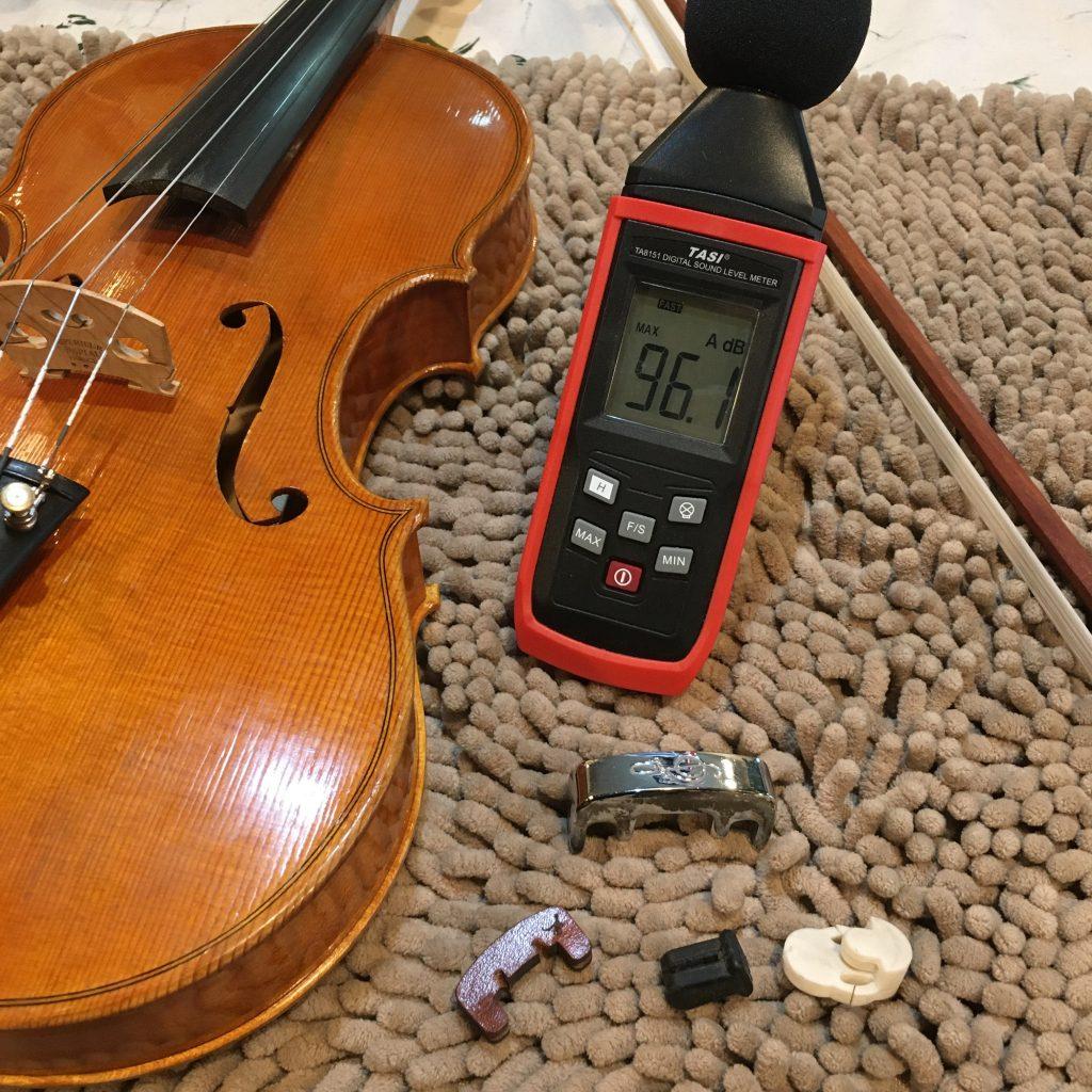 音量計とミュート